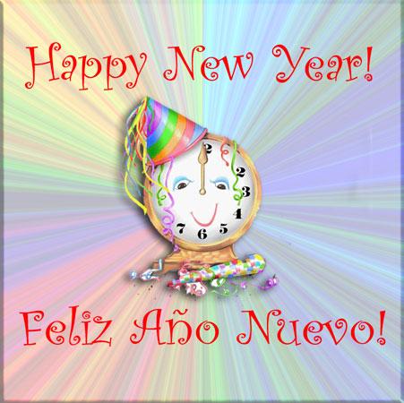 Happy New Year – Feliz Año Nuevo! | Have you Heard? — Escucho?
